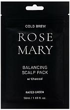 Perfumería y cosmética Mascarilla capilar equilibrante con aceite de romero y carbón - Rated Green Cold Brew Rosemary Balancing Scalp Pack