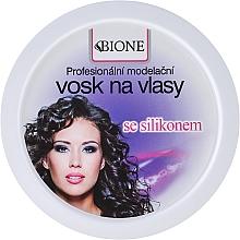 Perfumería y cosmética Cera moldeadora para cabello con silicona - Bione Cosmetics Professional Hair Wax Silicone
