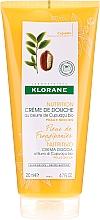 Perfumería y cosmética Crema de ducha con manteca de cupuazú - Klorane Cupuacu Frangipani Flower Nourishing Shower Cream