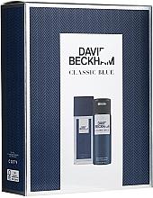 Perfumería y cosmética David Beckham Classic Blue - Set (desodorante perfumado/75ml + desodorante/150ml)