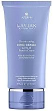 Perfumería y cosmética Crema reparadora de cabello con proteínas, sin aclarado - Alterna Caviar Anti-Aging Restructuring Bond Repair Leave-in Protein Cream