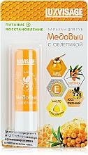 Perfumería y cosmética Bálsamo labial con extracto de espino amarillo y miel - Luxvisage