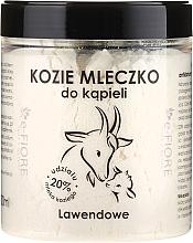 Perfumería y cosmética Leche de cabra de baño con lavanda - E-Fiore Lavender Bath Milk