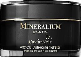 Perfumería y cosmética Crema facial con extracto de caviar negro - Mineralium Caviar Noir Anti-Aging Hydrator