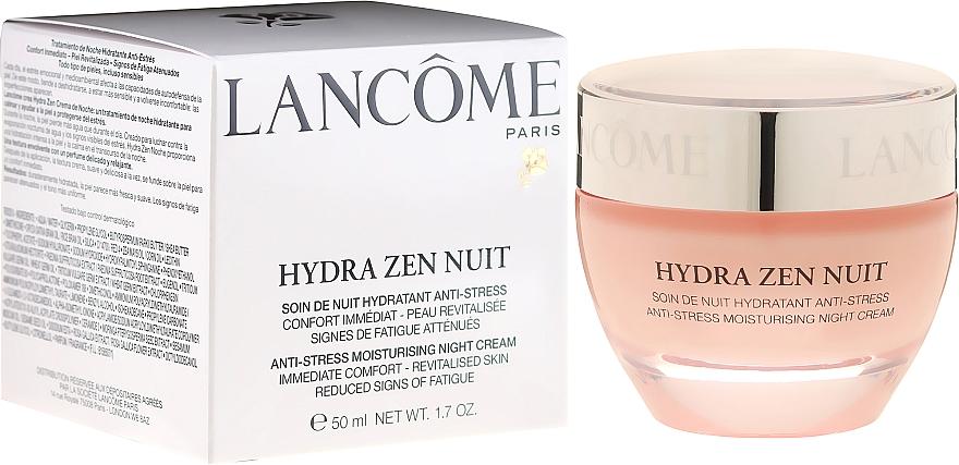 Tratamiento de noche hidratante anti estrés con extracto de moringa y aceite de sésamo - Lancôme Hydra Zen Neurocalm 50ml — imagen N1
