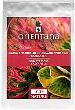Perfumería y cosmética Mascarilla para contorno de ojos de tejido con colágeno y extracto de quina aromática - Orientana Eye Silk Pad Cascarilla