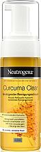 Perfumería y cosmética Espuma de limpieza facial para pieles con tendencia acnéica con extracto de cúrcuma - Neutrogena Curcuma Clear Mousse Clenser