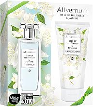 Perfumería y cosmética Set (edp/50ml + loción corporal/200ml) - Allvernum Lily Of The Valley & Jasmine
