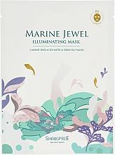 Perfumería y cosmética Mascarilla facial de tejido iluminadora con extractos marinos - Shangpree Marine Jewel Illuminating Mask