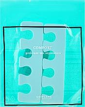Perfumería y cosmética Separadores para pedicura, color menta - Oriflame Pedicure Toe Separators
