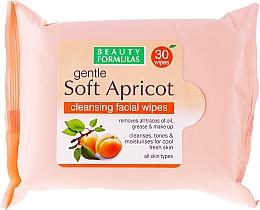 Perfumería y cosmética Toallitas húmedas desmaquillantes - Beauty Formulas Gentle Soft Apricot Cleansing Facial Wipes