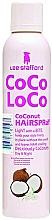 Perfumería y cosmética Spray moldeador para cabello con fijación duradera, aroma a coco - Lee Stafford Coco Loco Coconut Hairspray