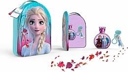 Perfumería y cosmética Disney Frozen II - Set (eau de toilette/100ml + brillo de labios/6ml + mochila)