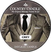 Perfumería y cosmética Vela perfumada con aroma a sándalo & vainilla - Country Candle Grey Daylight