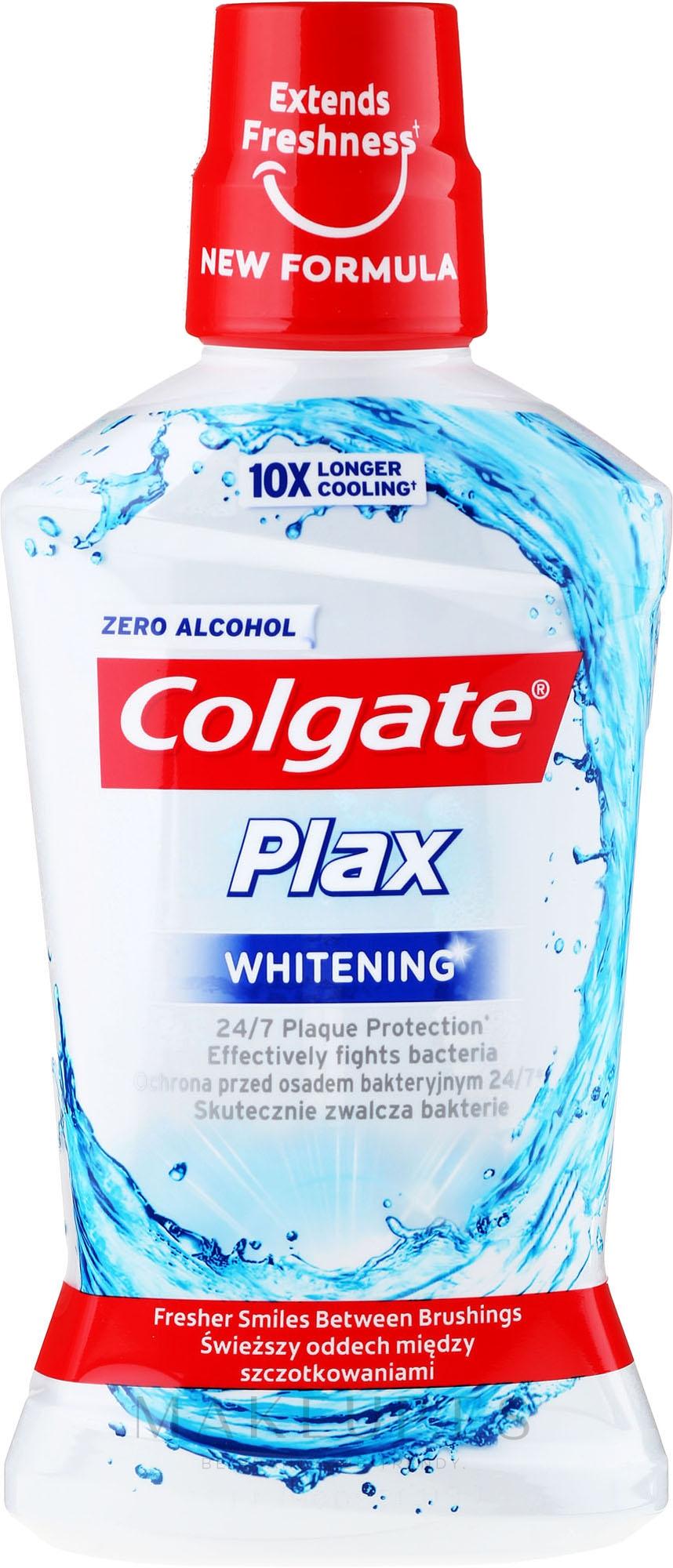 Enjuague bucal - Colgate Plax Whitening — imagen 500 ml