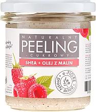 Perfumería y cosmética Peeling corporal con karité y aceite de frambuesa - E-Fiore Raspberry Body Peeling