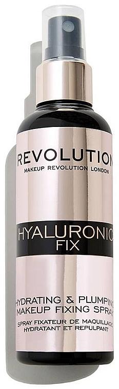 Spray fijador de maquillaje hidratante con jugo de aloe vera - Makeup Revolution Hyaluronic Fix Spray