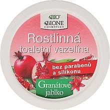 Perfumería y cosmética Vaselina con antioxidantes - Bione Cosmetics Pomegranate Plant Vaseline With Antioxidants