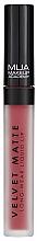Perfumería y cosmética Labial líquido - MUA Academy Velvet Matte Long-Wear Liquid Lip