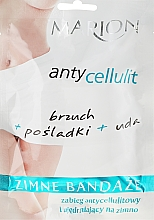 Perfumería y cosmética Vendajes reductores con efecto frío - Marion Anti-Cellulite Cool Bandages
