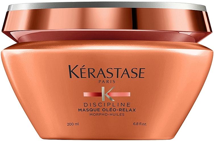 Mascarilla nutritiva y protectora térmica con aceite de coco para cabello encrespado - Kerastase Discipline Oleo Relax Masque