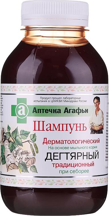Champú antiseborreico a base de saponaria - Las recetas de la abuela Agafia