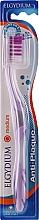 Perfumería y cosmética Cepillo dental de dureza media, violeta - Elgydium Anti-Plaque Medium Toothbrush