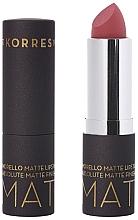 Perfumería y cosmética Barra de labios, efecto mate - Korres Morello Matte Lipstick