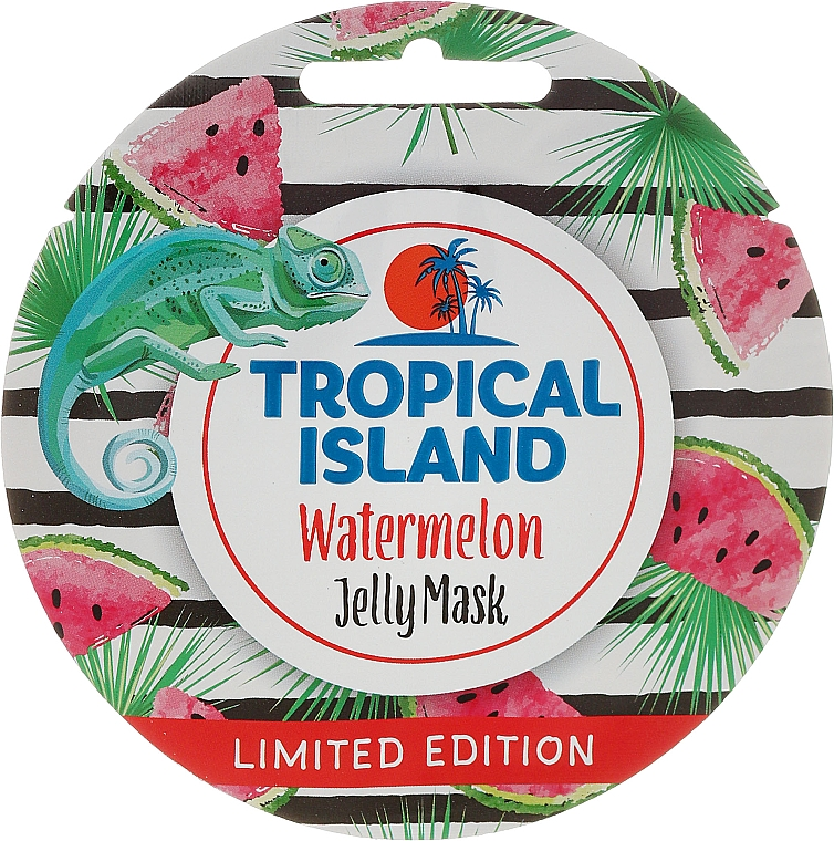 Mascarilla facial, Sandía - Marion Tropical Island Watermelon Jelly Mask