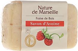 Perfumería y cosmética Jabón natural de avena con aroma a fresa - Nature de Marseille Soap