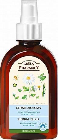 Elixir capilar a base de hierbas - Green Pharmacy