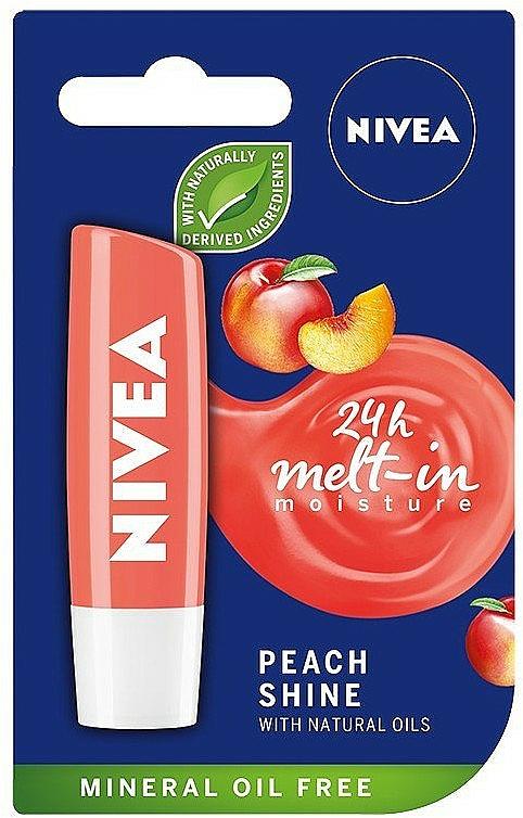 Bálsamo labial con melocotón - Nivea Lip Care Peach Shine Lip Balm
