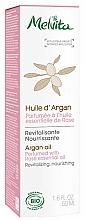 Perfumería y cosmética Aceite de argán perfumado con rosa - Melvita Organic Nourishing Argan Oil Perfumed With Rose Essential Oil
