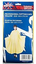 Perfumería y cosmética Capa de peluquería, amarilla - Ronney Professional Cutting Cape