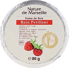 Perfumería y cosmética Bomba de baño con aroma a fresa - Nature de Marseille Strawberries