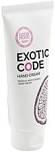 Perfumería y cosmética Crema de manos con aceite de almendras, aroma a maracuyá - Good Mood Exotic Code Hand Cream