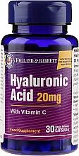 Perfumería y cosmética Complemento alimenticio en cápsulas con vitamina C y ácido hialurónico - Holland & Barrett Hyaluronic Acid With Vitamin C