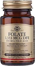 Perfumería y cosmética Complemento alimenticio en cápsulas ácido fólico 800 mcg - Solgar Folate 1,333 MCG DFE
