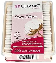 Perfumería y cosmética Bastoncillos de algodón - Cleanic Pure Effect