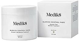 Perfumería y cosmética Parches faciales con ácido salicílico sin alcohol - Medik8 Blemish Control Pads