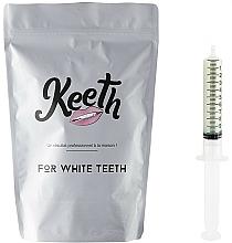 Perfumería y cosmética Kit jeringuilla de gel blanqueador dental con sabor a menta (recarga) - Keeth Mint Refill Pack
