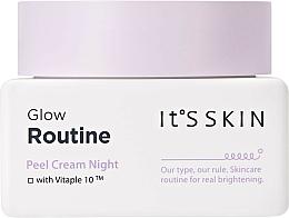 Perfumería y cosmética Crema de noche exfoliante con complejo vitable 10 - It's Skin Glow Routine Peel Cream Night