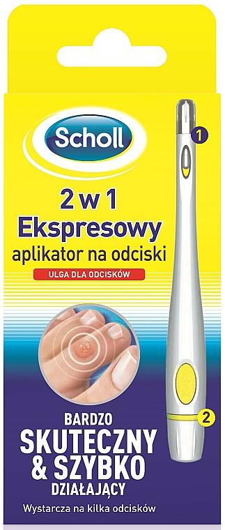 Aplicador anticallos - Scholl 2 in 1 Corn Express