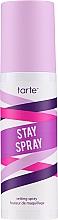Perfumería y cosmética Spray fijador de maquillaje de larga duración con extractos de pepino y aloe vera - Tarte Cosmetics Stay Spray Setting Spray