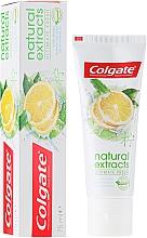 Perfumería y cosmética Pasta dental refrescante con aceite de limón asiático - Colgate Natural Extracts Ultimate Fresh Lemon