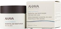 Perfumería y cosmética Hidratante de día con minerales del Mar Muerto - Ahava Time To Hydrate Essential Day Moisturizer Very Dry Skin