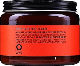 Perfumería y cosmética Mascarilla capilar reparadora con extracto de oliva y aceite de aguacate - Rolland Oway Sunway