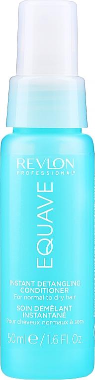 Acondicionador nutritivo y desenredante en spray, sin aclarado - Revlon Professional Equave Nutritive Detangling Conditioner — imagen N3