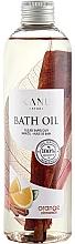 Perfumería y cosmética Aceite de baño relajante con aroma a naranja y canela - Kanu Nature Bath Oil Orange Cinnamon