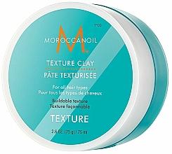 Perfumería y cosmética Arcilla moldeadora con aceite de argán para todo tipo de cabello - Moroccanoil Texture Clay